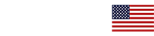 Coastal Home Roofing white logo with flag